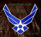 """AIR FORCE WINGS MODERN for Biker Motorcycle Vest Jacket Military Back Patch  10"""""""