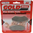 Brake Disc Pads Rear R/H Goldfren for 2007 Keeway Outlook Sport 125