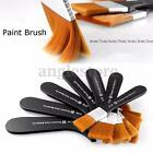 7 Size Paint Brush Nylon Hair Artist for Watercolor Acrylic Oil Painting Drawing