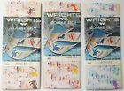 Lot of 3 Vintage Wrights Sewing Trim Zodiac Seam Binding Sealed Hippy 1960's Mod