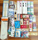 Vintage Sewing Notions Large Lot Trims Buttons Needles Bindings Zippers Pins
