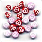 BUTTONS GALORE JAZZY BRADS HEARTS 840934085328