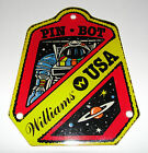 Williams USA PIN BOT Pinball Machine Promotional Plastic Key Chain Fob 1986