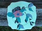 VINTAGE CIRCA 1930 LEDA SHAPED PLATE DECORATED BY CLARICE CLIFF INDIAN SUMMER