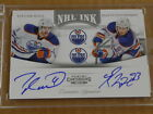 2011 12 Panini Contenders TAYLOR HALL RYAN NUGENT HOPKINS AUTOGRAPH AUTO OILERS