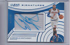 15-16 Clear Vision Signatures CARMELO ANTHONY autograph auto 119 KNICKS