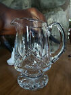 Waterford Crystal Lismore Footed Creamer ~ MINT CONDITION