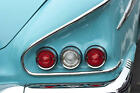 1950s Chevy Rare Vintage Sport Car 1 24 Metal Carousel Turquoise Model Art 18
