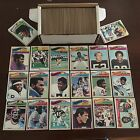 1977 Topps Football Near Complete Set 400+ 528 No Dups HOFers RCs VG-EX NR