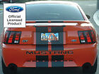 Ford Mustang Letters Rear Bumper Inserts Vinyl Decals Graphics 1999 2000 2001