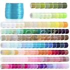 50 Yards Satin Ribbon 1 8 3mm Craft Wedding Party Festival Decoratio RN0001