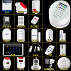 2016 DIY KERUI Wireless W2 WiFi GSM PSTN Home Alarm System+Wireless Accessories