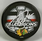ANDREW SHAW Signed CHICAGO BLACKHAWKS 2015 STANLEY CUP CHAMPS PUCK! 1006947