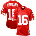 Joe Montana San Francisco 49ers Mitchell & Ness Authentic Throwback Jersey - NFL