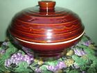 MARCREST VINTAGE BROWN OVENPROOF STONEWEAR DAISY DOT DESIGN DUTCH OVEN CASSEROLE