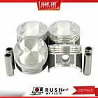 DNJ P326 Std size Complete Piston Set For 89 91 Geo Isuzu IMark 16L DOHC 16v