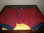 NAUTICA MEN'S RED & BLUE UNDERWEAR NEW WITH TAG LARGE