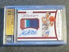 2014-15 Flawless JOHN STOCKTON Auto Patch Card RUBY 15! 4 COLOR! GEM MINT 9.5!