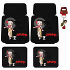 New Betty Boop Hawaiian Style Car Truck Suv Front Rear Back Rubber Floor Mats