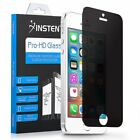Privacy Anti Spy Real Tempered Glass Screen Protector Shield for iPhone 5 5S SE