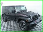 Jeep: Wrangler Rubicon 4x4 3.6L V6 Cyl Hard Top SUV Low Miles EASY FINANCING! USED 2014 Jeep Wrangler Unlimited Automatic Leather SEats