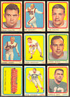 1963 Topps Football Cards 3