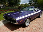 Dodge Challenger RT COUPE 1971 challenger rt rotisserie restored 440 6 pack r t resto mod pro touring