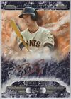 2016 Topps Tier One Buster Posey COPPER INK AUTO 25 Autograph