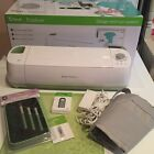 Cricut Explore Cutting Machine Blue Tooth Adapter New Blades Mat and tools