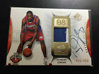 2008 09 UD SP Authentic Deandre Jordan RC Patch Auto Clippers # 499