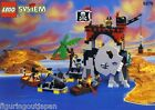 Lego Pirate Red Coat Soldiers play set 6279 Skull Island Pirates base + box 1995