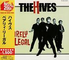 THE HIVES Barely Legal +2 RARE JAPAN CD OBI VICP-41220