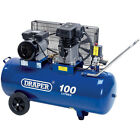 Draper 31254 100 Litre 230V 2.2kW (3hp) Belt-Driven Air Compressor