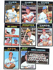 1971 Topps Baseball Card Lot Starter Set 300 Different EX EXMT