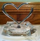 Pandora Unforgettable Moments Silver Crystal Open Heart Ring, Bracelet Holder
