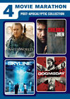 4 Movie Marathon Post Apocalyptic Collection New DVD 2 Pack Snap Case
