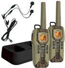 2 PK Long Range 2 Way Radio S 50 Mile Walkie Talkie For Hunting Hands Free W VOX