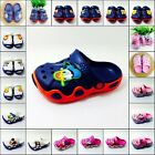 Kids Boys Girls Beach Sandals Garden Clogs Croc Shoes Fit Shoe Charms
