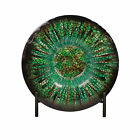 Urban Designs Decorative Glass Charger Plate with Stand