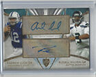 2014 Supreme Andrew Luck and Russell Wilson Dual Autograph * 8 15 *