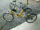 ATLAS GAS POWERED OR PEDAL 24 INDUSTRIAL DUTY ADULT TRICYCLE TRIKE 50 CC