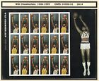 #4950-51 Wilt Chamberlain sheet of 20 mint nh stamps $.47 Forever