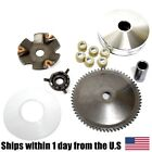 50cc Variator Set GY6 Scooter ATV QMB139 QMA139 85 Gram Roller Front Clutch