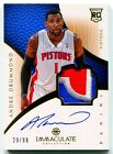 2012-13 Panini Immaculate Basketball Rookie Autograph Patch Gallery, Guide 69