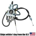 Carburetor with Throttle Cable for HONDA Twinstar200 CM185T CM200T 1978-1981