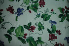 ORCHARD TRAIL Vining Floral on White Cotton Fabric by WAVERLY ~ 56