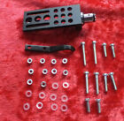MHA 809 Alloy Headshell Black + Finger LiftCartridge Tags Nuts Bolts  Washers