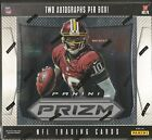 2012 Panini Prizm Football Factory Sealed Hobby Box - 2 Autographs Per Box