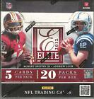 2012 Panini Elite Football Factory Sealed Hobby Box - 4 Hits Per box