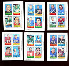 1969 Topps 4 in 1 Football Card Insert Lot 23 Different VGEX EXMT
